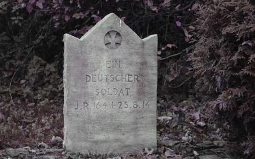 Tombe allemande du cimetière de Wagnée